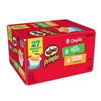 Pringles Variety Pack, Three Flavors, 27 CT