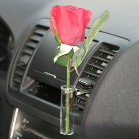 Auto Vase Red Rose Walmart
