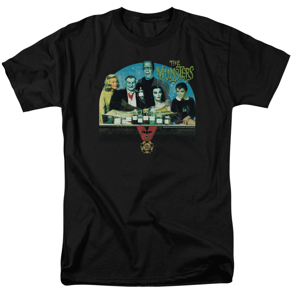 The Munsters 50 Year Potion Mens Short Sleeve Shirt