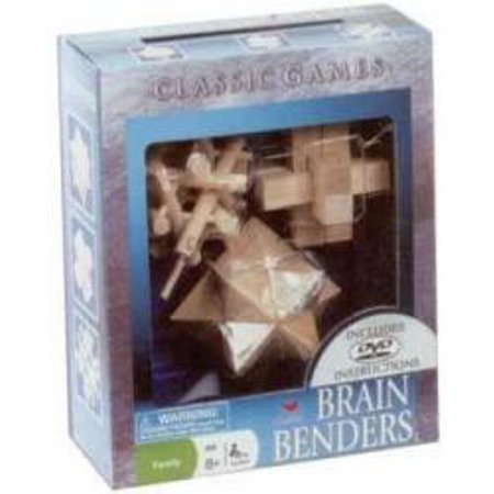 Brain Puzzle  Wood
