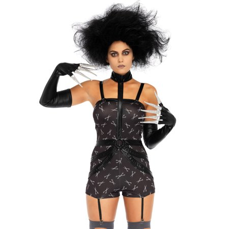 Leg Avenue Womens 2 PC Creepy Scissorhands Sweetie Costume