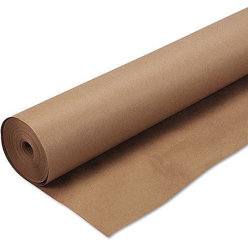 """Pacon Kraft Wrapping Paper, 48"""" x 200', Natural"""