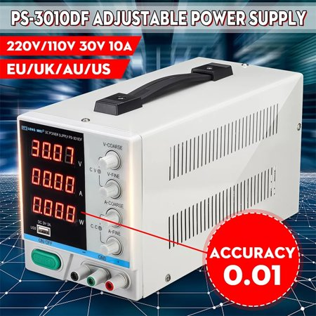 LONG PS-3010DF /220V 30V 10A Adjustable LED Digital Display DC Power Supply Switching Regulated 5V 2A USB Power Supply - image 4 of 7