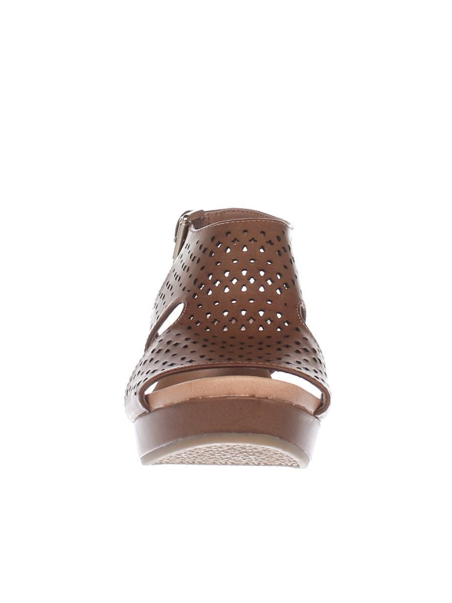 Womens Dr. Scholl's Barely Slingback Wedge Sandals - Carmel