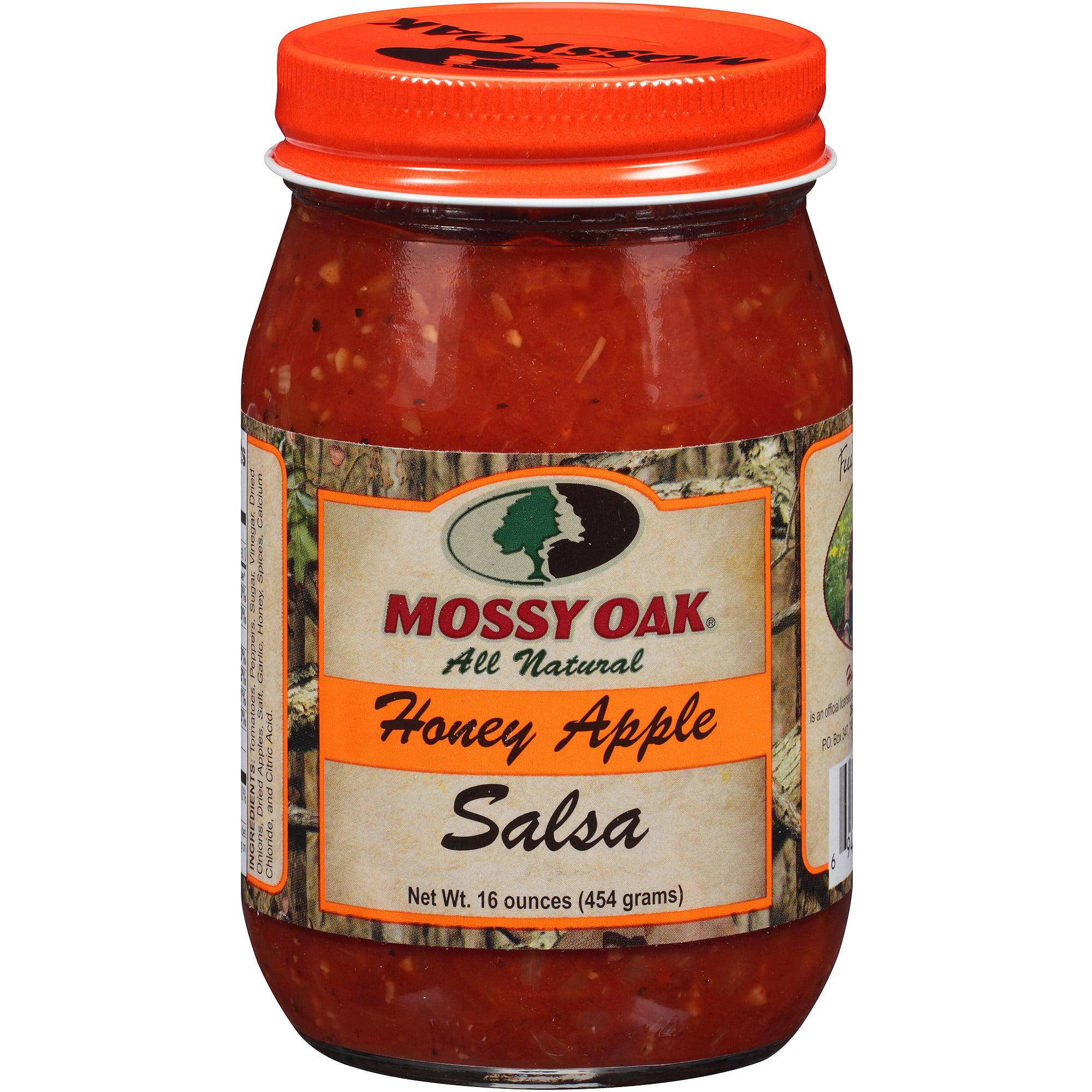 Mossy Oak All Natural Honey Apple Salsa, 16 oz - Walmart.com