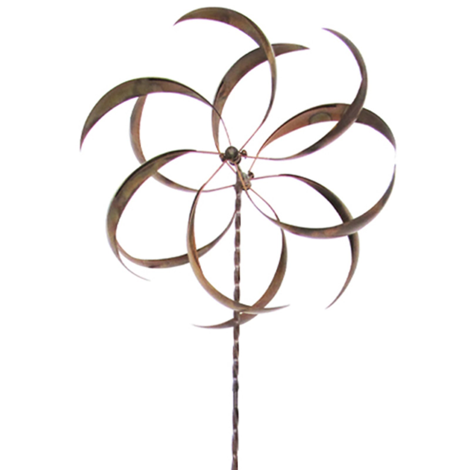 Leigh Country Curved Leaf Wind Spinner by Wind Spinners