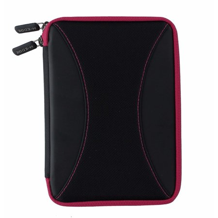 M-Edge Latitude Jacket Protective Case Cover for Kindle and Kobo - Black / Pink