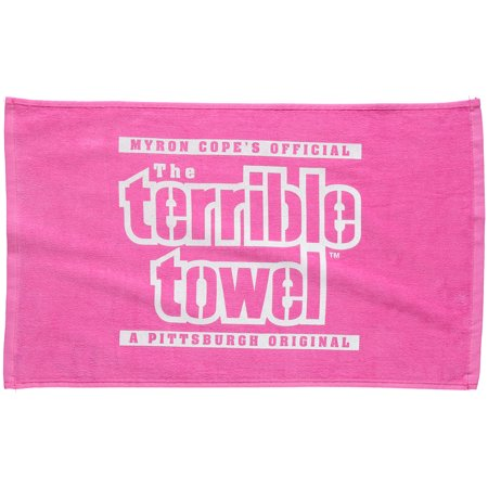Pittsburgh Steelers Pink Terrible Towel - No Size