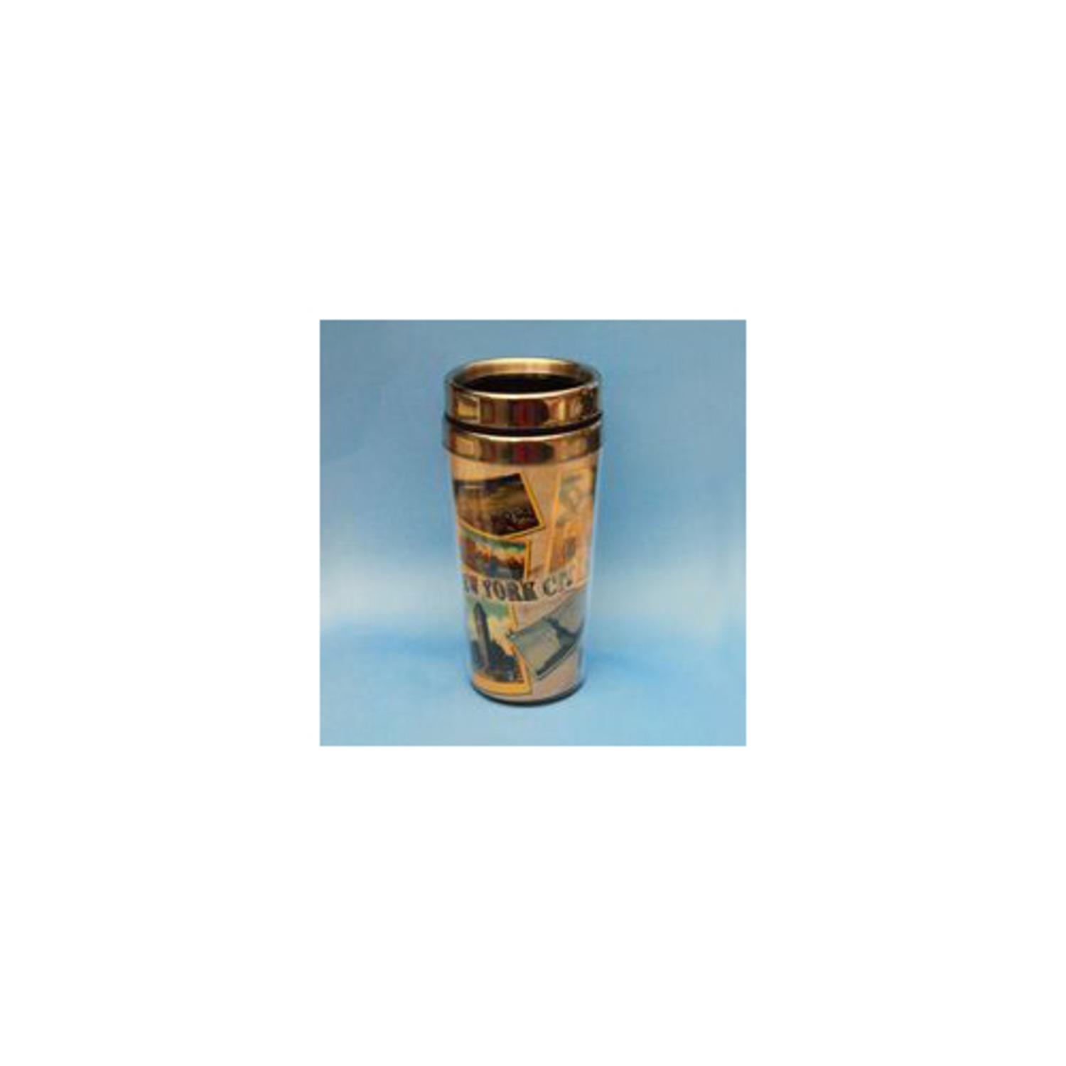 Pack of 6 New York City Collage Decorative Coffee Travel Containers