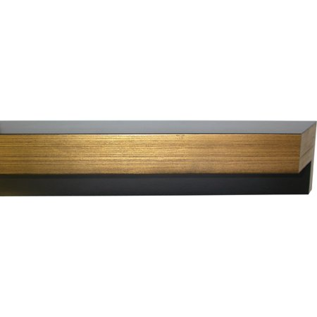 Canvas Floater Frame Moulding (Wood) - Contemporary Gold Finish ...