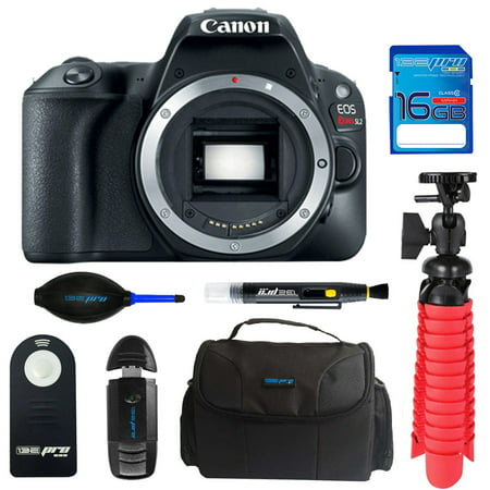Canon EOS Rebel 200D/SL2 DSLR Camera (Body) + Pixi Starter Bundle Kit