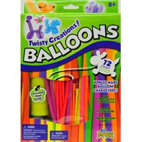 Imperial Toy Twisty Balloons 72 Balloon Set With Pump