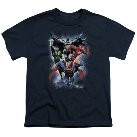 Justice League The Coming Storm Big Boys Shirt