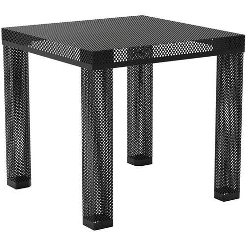 Novogratz Iconic Modern Metal End Table,Multiple Colors