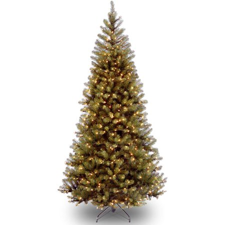 Green Spruce Tree (National Tree Pre-Lit 7' Aspen Spruce with 400 Clear Lights )