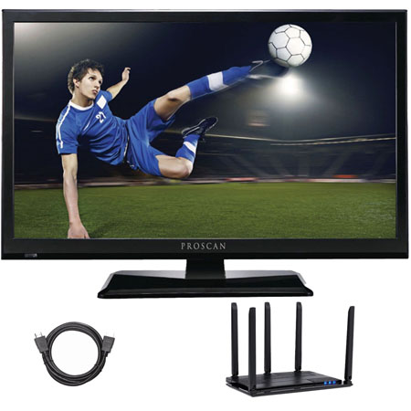 Proscan PLEDV2488A-E 24-Inch LED TV-DVD TV/DVD Combo Cut ...