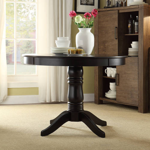 Lexington Round Dining Table, Black