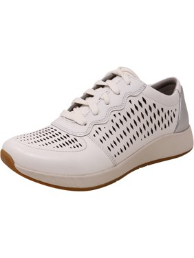 Dansko Women's Charlie Leather White Ankle-High Fashion Sneaker - 5.5M