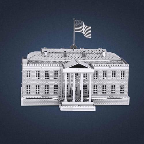 Metal Earth 3D Laser Cut Model, White House
