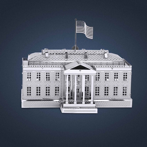 Metal Earth 3D Laser Cut Model, White House