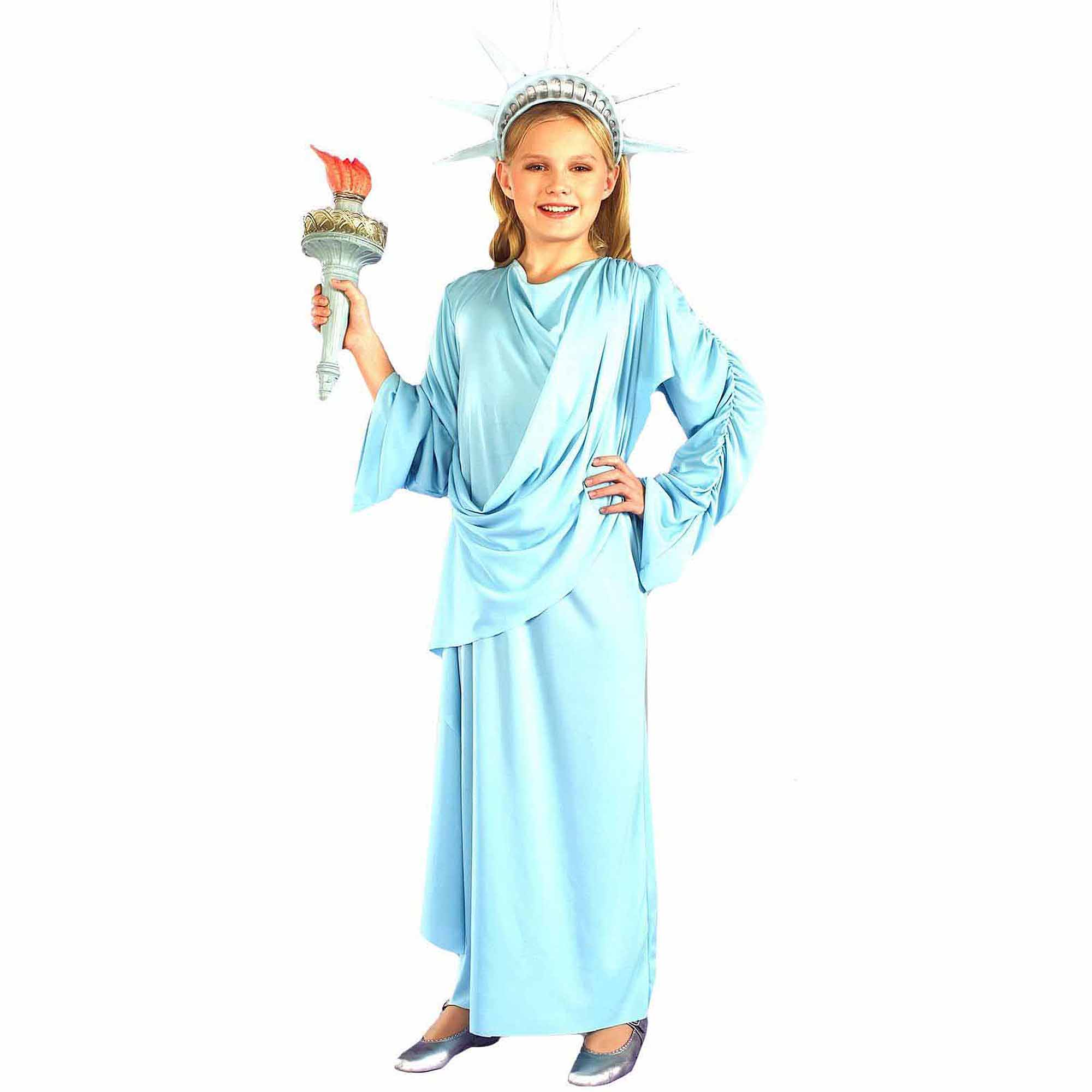 Little Miss Liberty Child Halloween Costume - Walmart.com