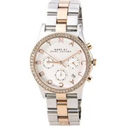 Marc Henry Chronograph Ladies Watch - Two Tone