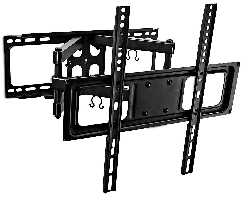 Full Motion Corner TV Wall Mount Articulating Swivel Tilting for Plasma LCD LED