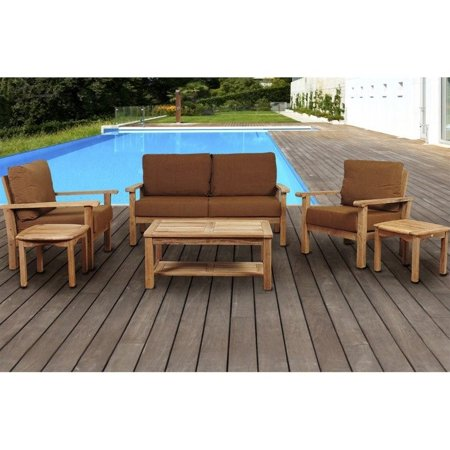 International Home Miami Teak Sofa Set