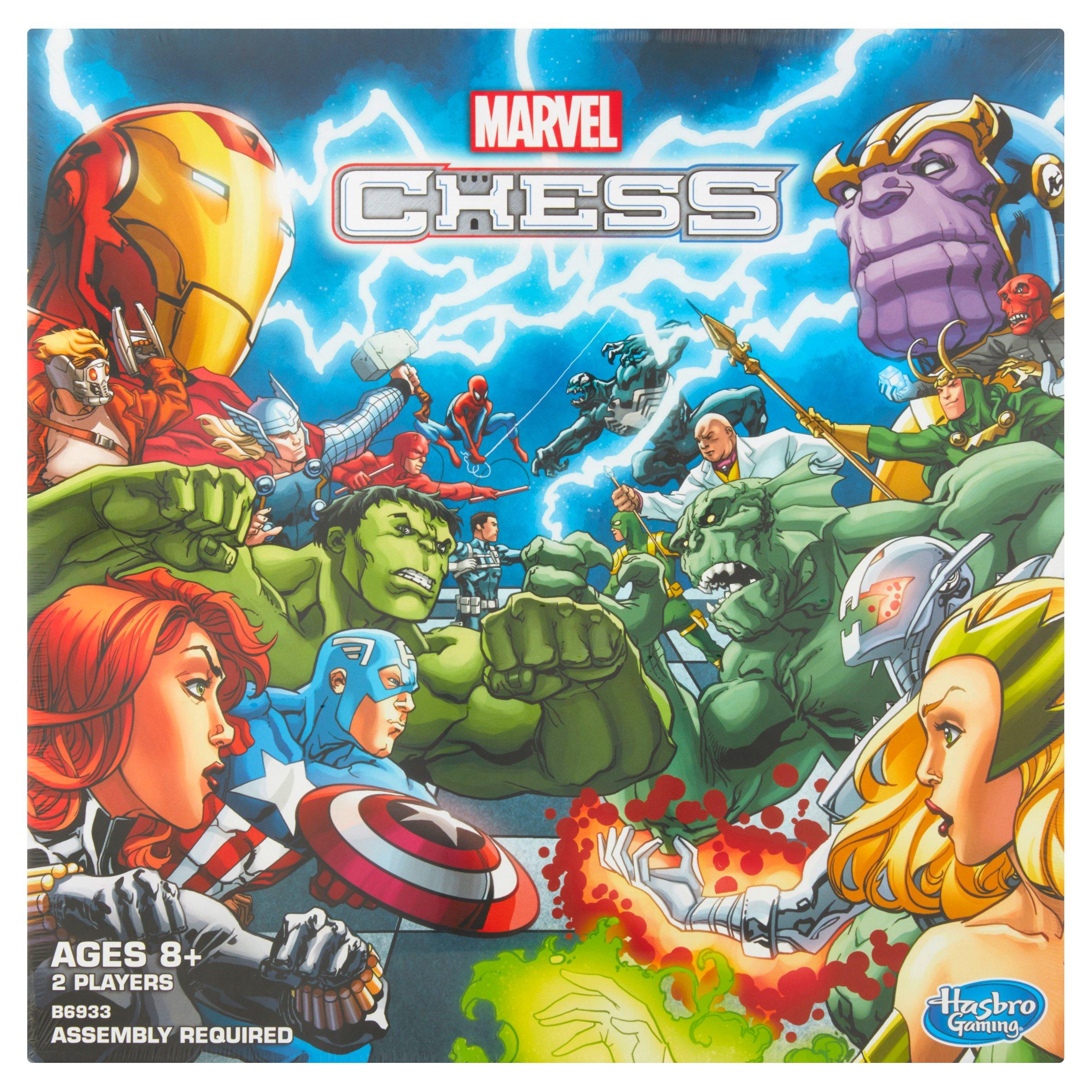 Hasbro Marvel Chess Ages 8+ by Hasbro