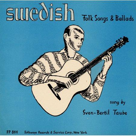 Sven-Bertil Taube - Swedish Folk Songs & Ballads [CD] Swedish Folk Music
