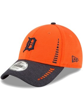 size 40 5f3dd dd7ab Product Image Detroit Tigers New Era Speed Tech 9FORTY Adjustable Hat -  Orange Heathered Navy - OSFA