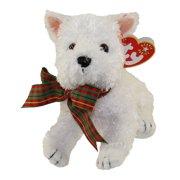 TY Beanie Baby - KIRBY the White Dog (5.5 inch)