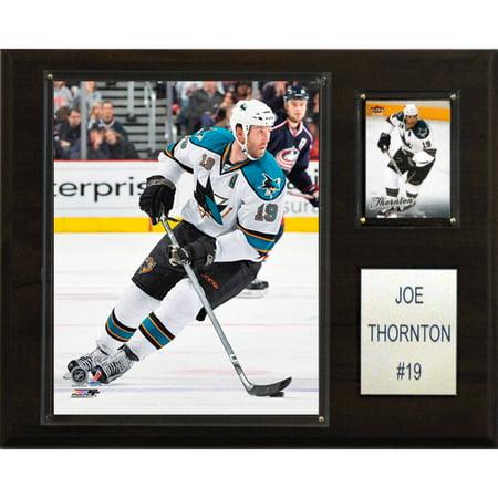 C&I Collectables NHL 12x15 Joe Thornton San Jose Sharks Player (Joe Thornton San Jose Sharks)