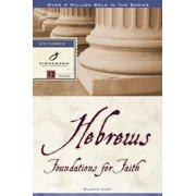 Hebrews : Foundations for Faith