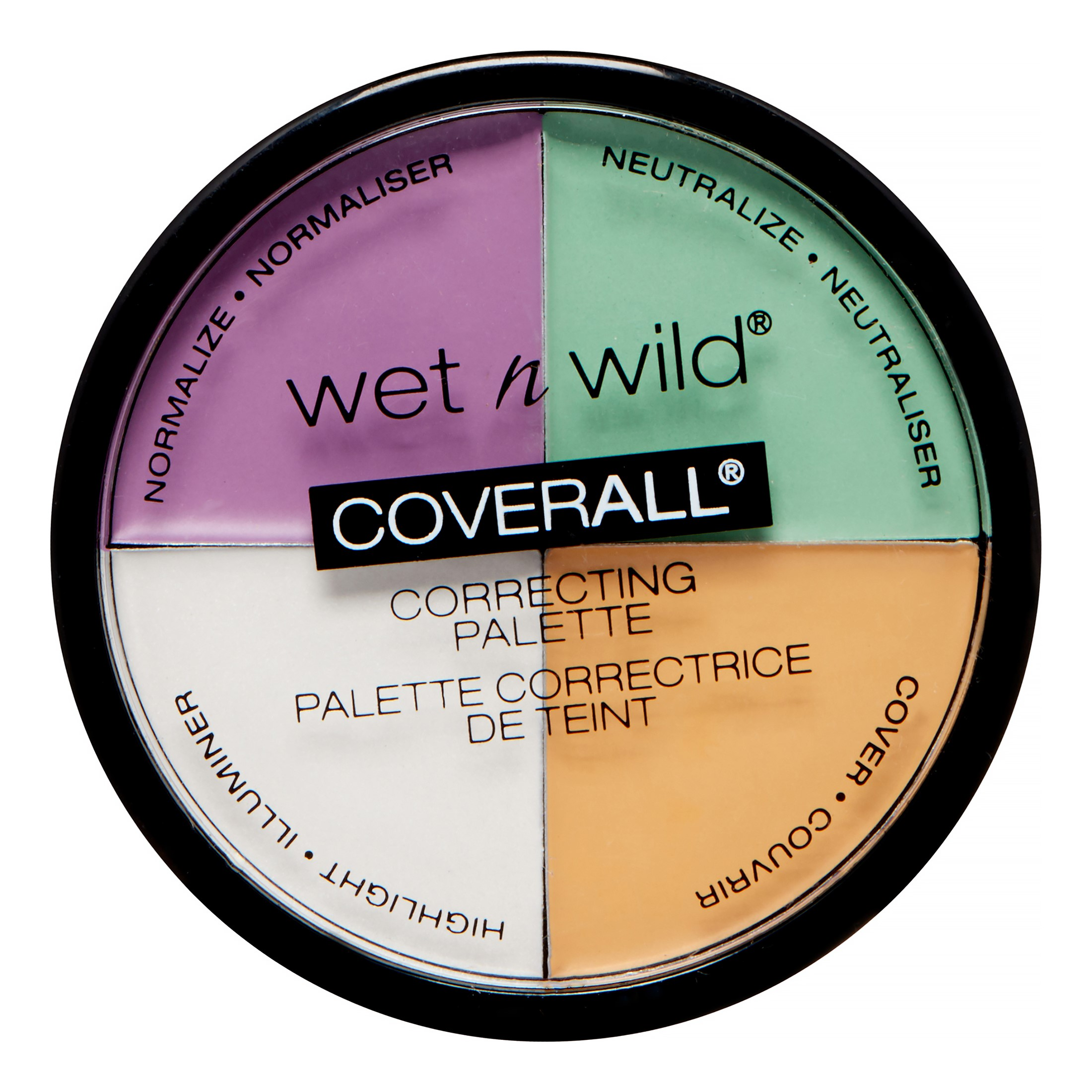 (2 Pack) Wet N Wild Coverall Correcting Palette, Color Commentary