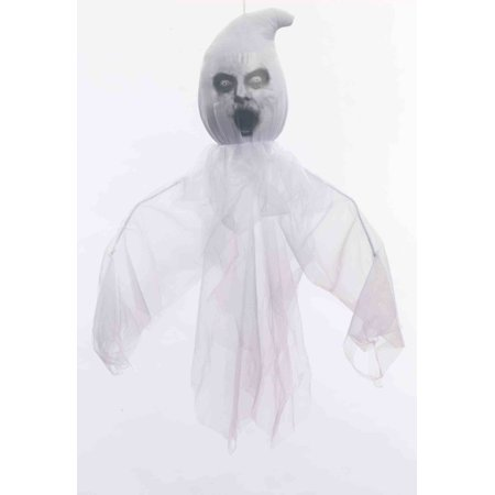 Hanging Scary Ghost Decoration Halloween Decor Large Spooky Creepy Haunted - Halloween Party Scary Food Ideas