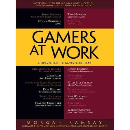 Gamers at Work: Stories Behind the Games People Play by