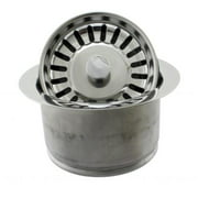 Westbrass Stainless Steel D2082S-20 Extra Deep ISE Disposal Flange and Strainer