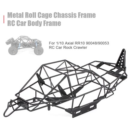 Metal Roll Cage Chassis Frame RC Car Body Frame for 1/10 Axial RR10  90048/90053 RC Car DIY Rock Crawler | Walmart Canada
