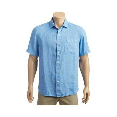1bd9c4a8 Tommy Bahama - Men's Tommy Bahama Seaspray Breezer Short Sleeve Shirt -  Walmart.com