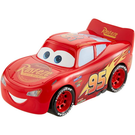 Disney/Pixar Cars Turbo Racers Lighting McQueen Vehicle - Cars Mcqueen