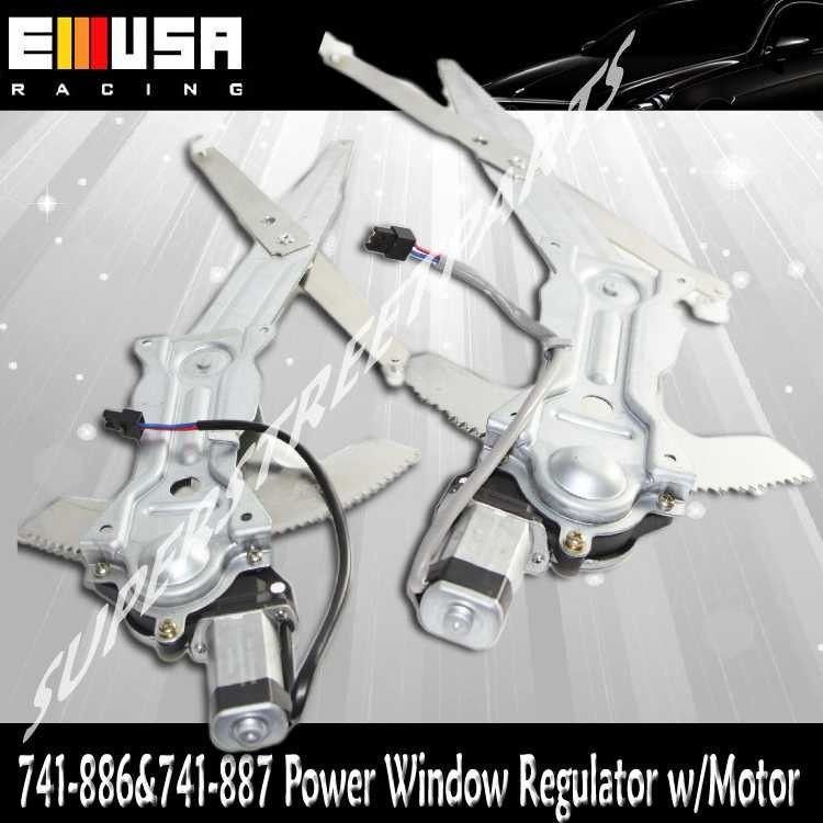Front Left Drivers Side Power Window Regulator and Motor Assembly Compatible with 1993-2002 Chevy Camaro 1993-2002 Pontiac Firebird OE 741-886,10305686
