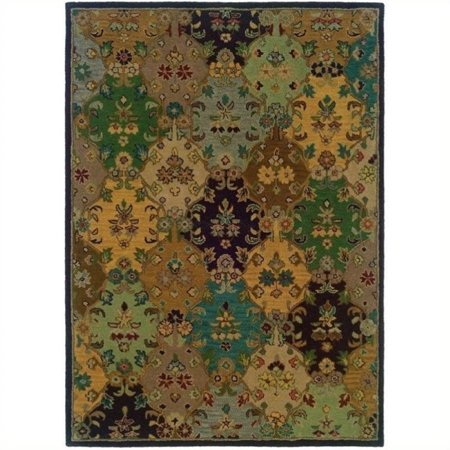 Hawthorne Collection 8' x 10' Area Rug in Ivory - image 1 de 1