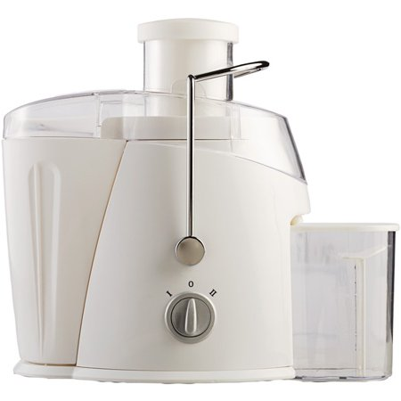 Brentwood® Appliances 350-ml Juice Extractor Brentwood Appliances JC-452W 350-ml Juice Extractor ; 400 Watts Of Power ; 2-speed Control Knob ; Power Interlock ; Wide Feeder; 350 Ml Capacity Graduated Jar ; CETL Approved ; White; 1-year Limited Warranty; This brentwood appliances 350-ml juice extractor is a high quality other kitchen appliances item from our housewares & personal care , kitchen appliances & accessories , small appliances & accessories , other kitchen appliances collections .