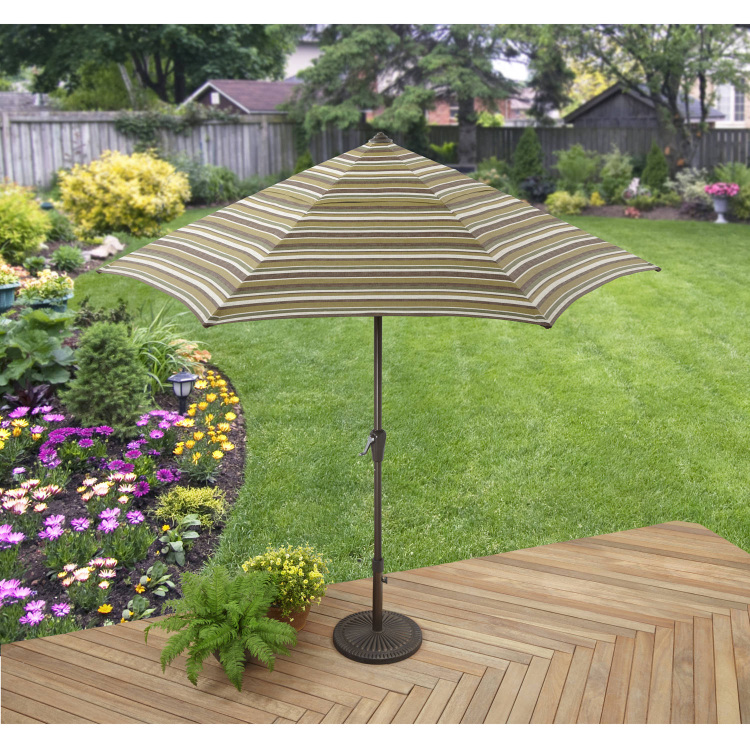 Better Homes and Gardens Sunrise Estates Umbrella, Beige by Hangzhou Jinshi Hardware Co., Ltd.