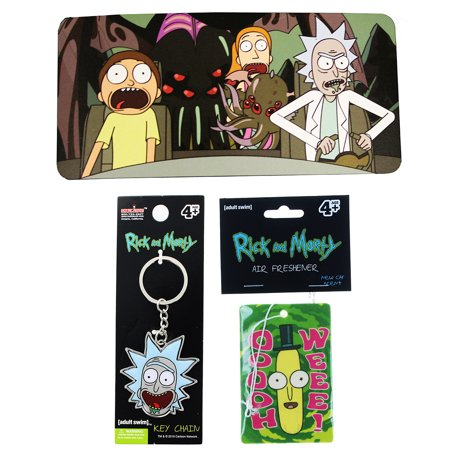 Rick and Morty Key Chain dc674385976