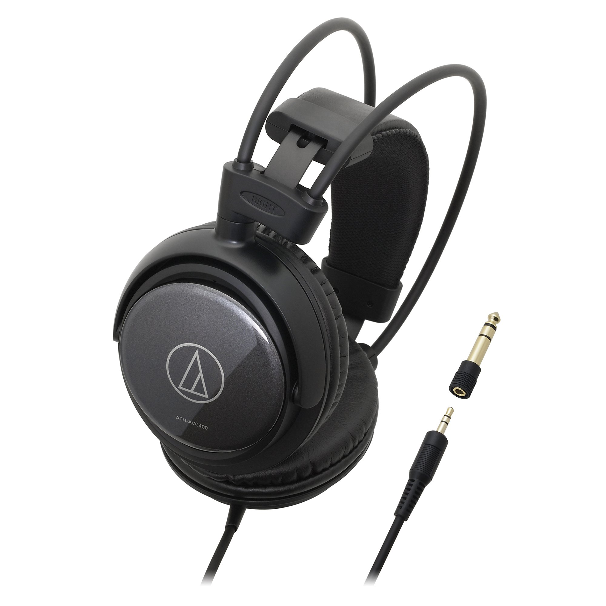 Audio Technica ATH-AVC400 SonicPro Over-Ear Headphones 53mm Drivers