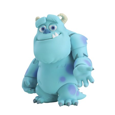 Good Smile Monsters, Inc. Sulley Deluxe (DX) Version Nendoroid Action Figure - Sulley Monsters Inc