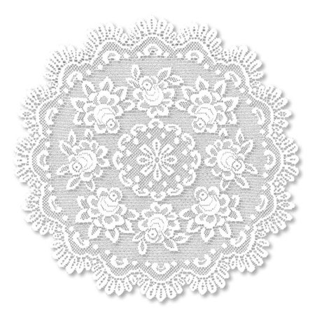 Heritage Lace Rose Round Table Topper