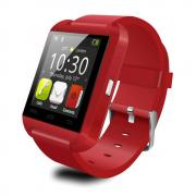 Jeobest U8 Bluetooth Smart Watch - Smart Wrist Watch Phone U8 Bluetooth V3.0 + EDR For iPhone IOS Android Smart Phone Red